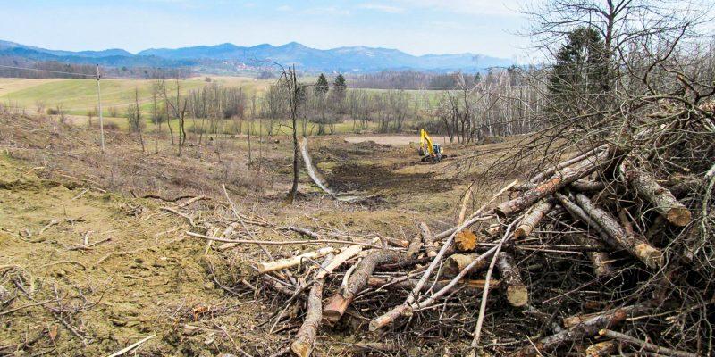 Sanacija gozdov in kmetijskih zemljišč