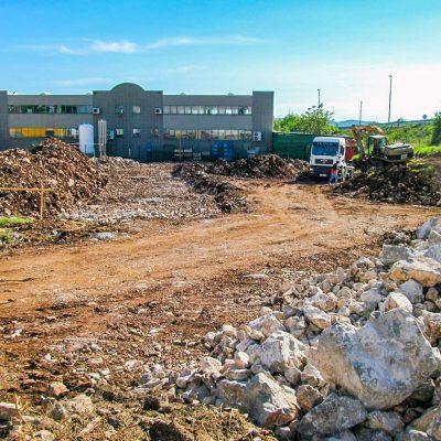 Izkopi zemeljska dela priprava za gradnjo
