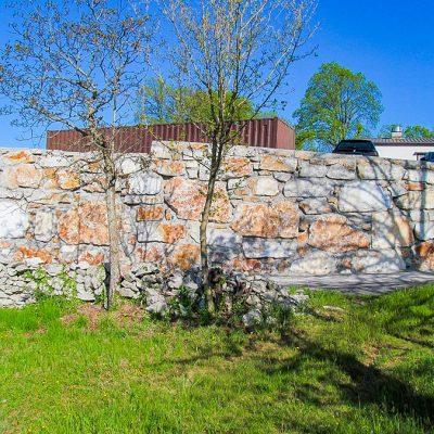 Podporni zid - Skalomet